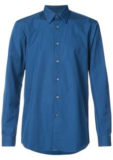 Jil Sander classic fitted shirt - Blue