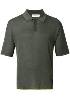 Jil Sander classic polo shirt - Green