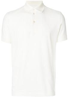 Jil Sander classic polo shirt - White