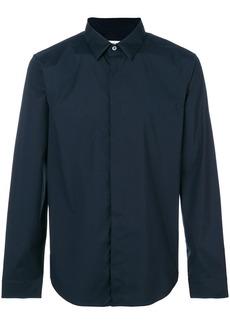 Jil Sander concealed fastening shirt - Blue