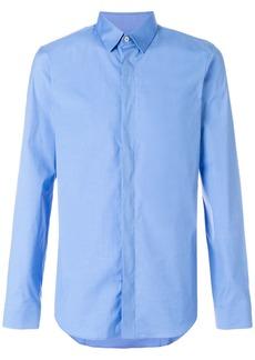 Jil Sander concealed placket shirt - Blue