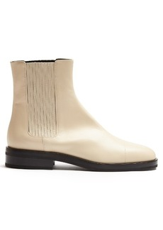 Jil Sander Contrast-sole leather ankle boots