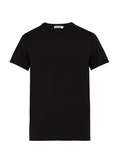 Jil Sander Crew-neck cotton-blend T-shirt