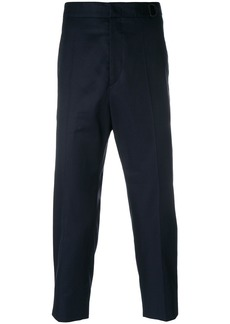 Jil Sander cropped tailored trousers - Blue
