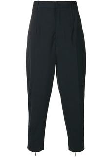 Jil Sander cropped trousers - Blue