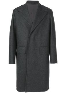 Jil Sander double breasted coat - Grey