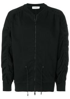 Jil Sander drawstring bomber jacket - Black