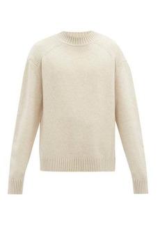 Jil Sander Dropped-sleeve wool sweater