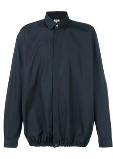 Jil Sander elasticated hem shirt - Blue