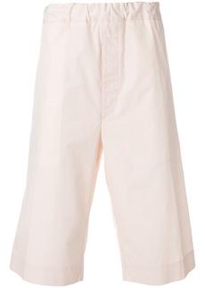 Jil Sander elasticated knee shorts - Pink & Purple