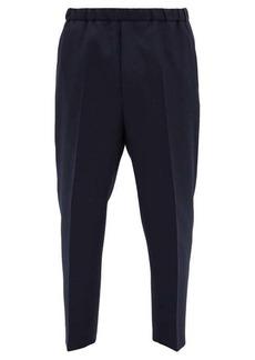 Jil Sander Elasticated-waist wool-twill trousers