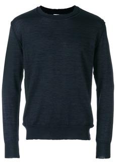 Jil Sander fine knit jumper - Blue