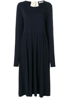Jil Sander flared dress - Blue
