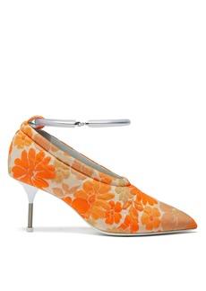 Jil Sander Floral brocade pumps