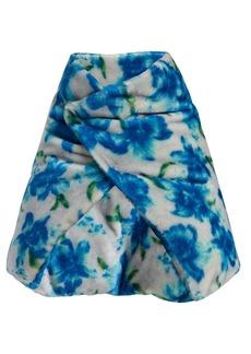 Jil Sander Floral wrap scarf