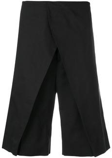 Jil Sander front panel shorts - Blue
