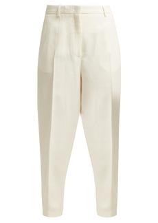 Jil Sander Gianluca crepe trousers