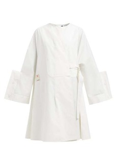 Jil Sander Grayson cotton-blend dress