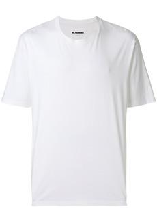Jil Sander half sleeve T-shirt - White