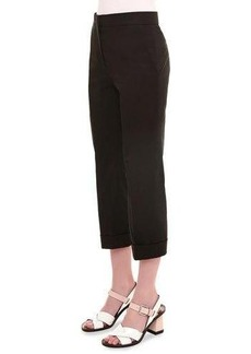 Jil Sander High-Waist Cropped Pants