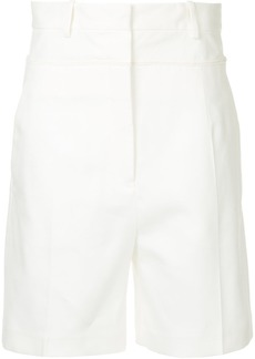 Jil Sander high-waisted shorts - White