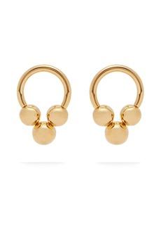 Jil Sander Hoop-stud earrings