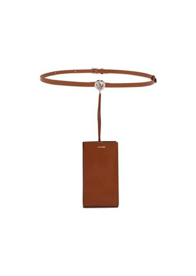 Jil Sander iPhone® case leather belt bag