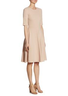 Jil Sander Jersey Fit-&-Flare Dress