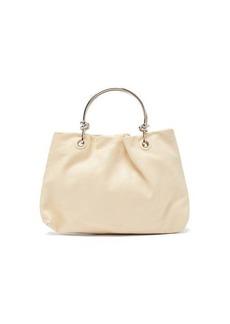 Jil Sander Knot-handle leather bag