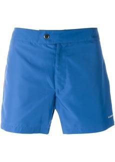 Jil Sander lateral striped swim shorts - Blue
