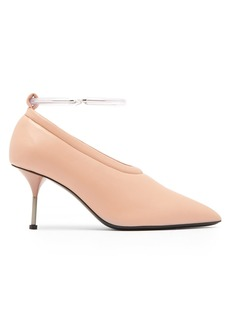 Jil Sander Leather bracelet-strap pumps