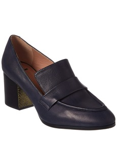 Jil Sander Leather Loafer Pump