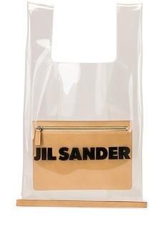 Jil Sander Logo Market Bag