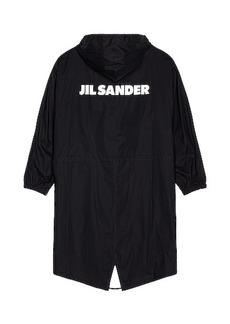 Jil Sander Logo Parka
