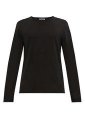 Jil Sander Long-sleeved cotton-blend T-shirt