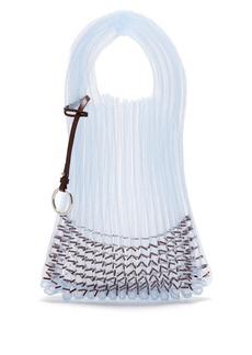 Jil Sander Market small embellished net tote bag