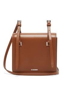 Jil Sander Mini leather cross-body bag