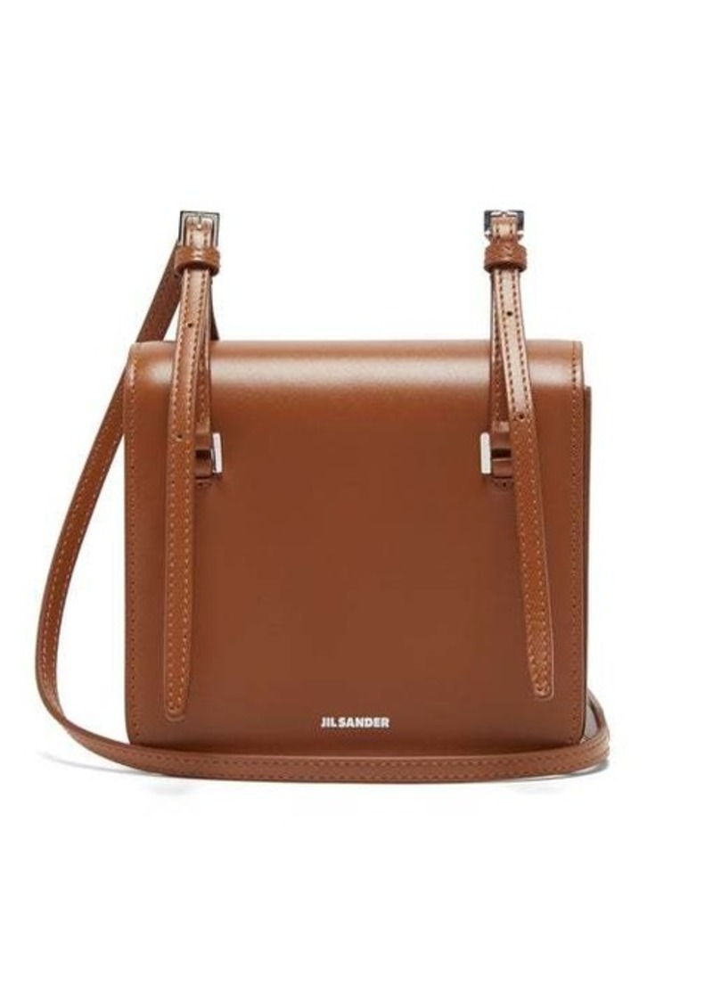 Jil Sander Mini leather cross-body bag