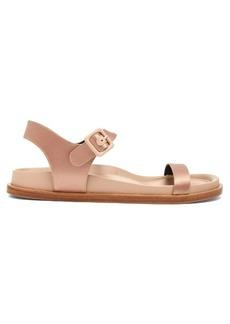 Jil Sander Moulded-insole satin sandals
