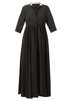 Jil Sander Niaz stand-collar midi dress
