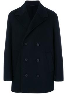 Jil Sander Nizza double breasted coat - Blue