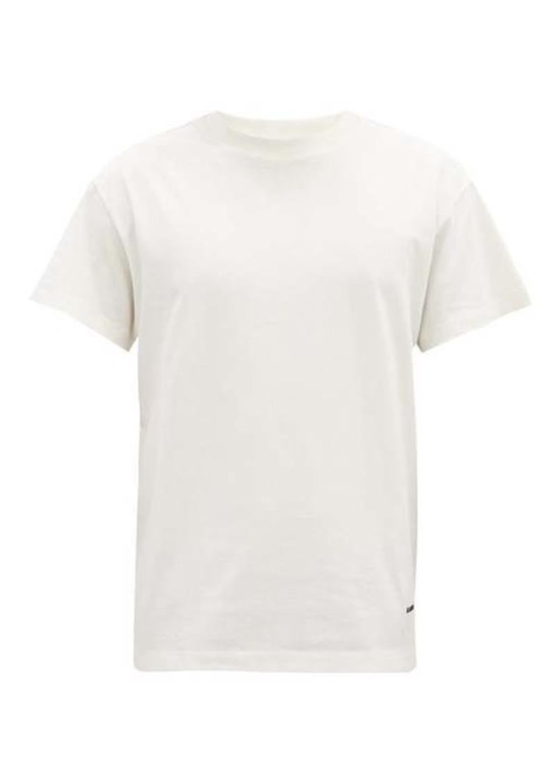 Jil Sander Pack of three crew-neck organic-cotton T-shirts
