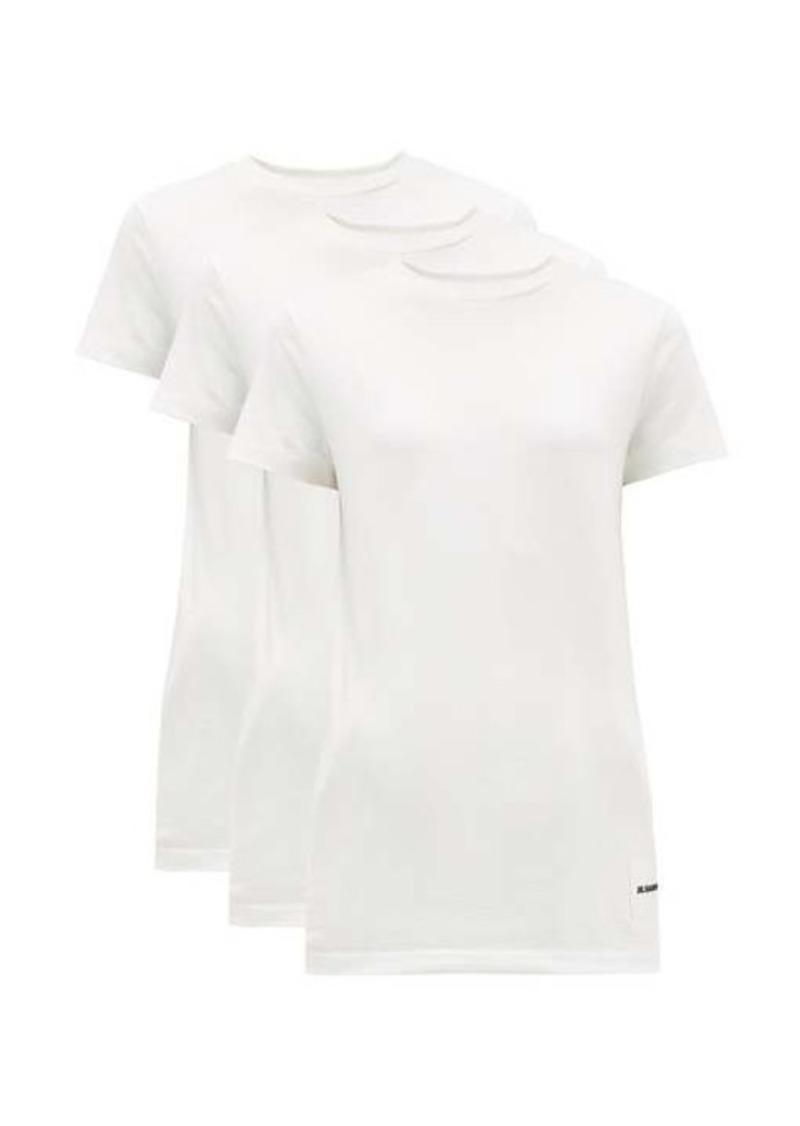 Jil Sander Pack of three organic-cotton T-shirts