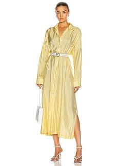 Jil Sander Packaway Shirt Dress