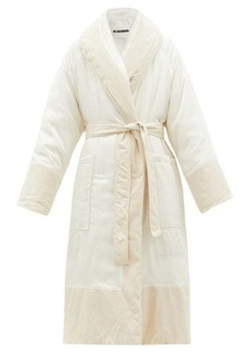 Jil Sander Padded belted technical coat