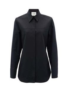 Jil Sander Panelled cotton-blend shirt