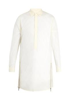 Jil Sander Pianta point-collar sheer shirt