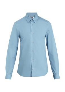 Jil Sander Pila point-collar cotton shirt