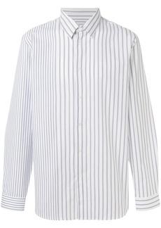 Jil Sander pinstripe button-down shirt - White