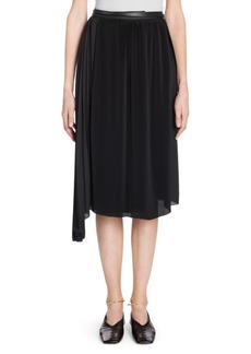 Jil Sander Pleated Double Wrap Skirt